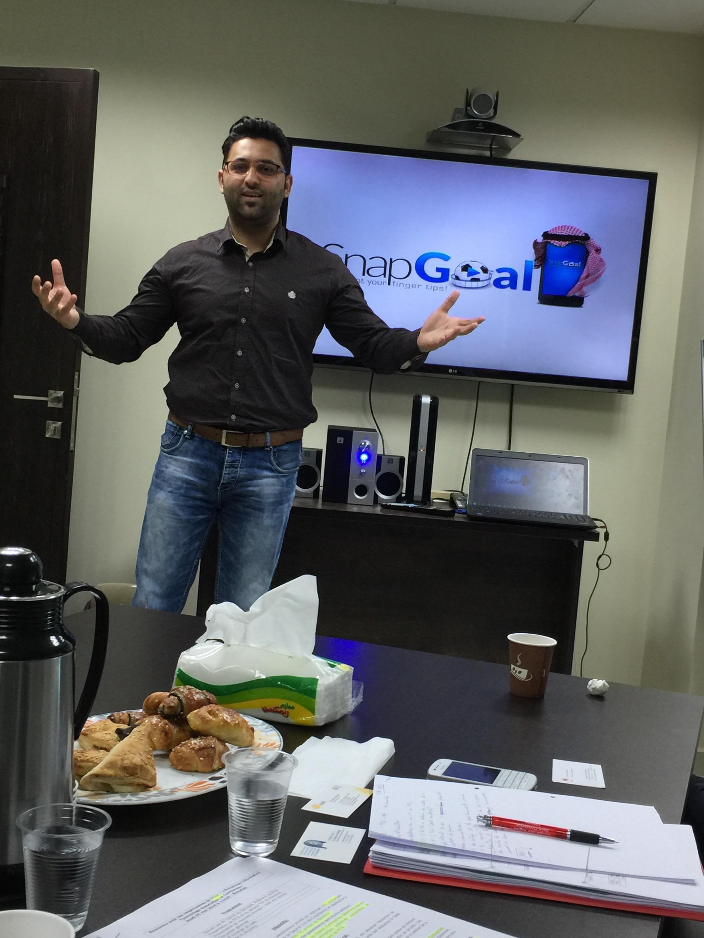 Un jeune entrepreneur palestinien nous présente son projet