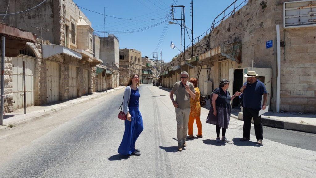 Visite de Hébron avec Yehuda Shaul (Breaking the silence)