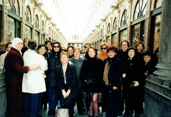 1996 mai - give peace a chance - women speak out - galerie - rencontre balkans